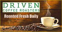 Buy fresh roasted coffee beans from Driven coffee