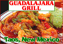 The Guadalajara Grill in Taos NM, serving the finest in New Mexican food at two locations in Taos