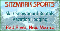 Red River New Mexico vacation lodging / ski and snowboard rentals